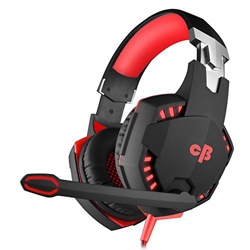 Cosmic Byte Kotion Each Over the Ear Headsets with Mic & LED - G2000 Edition (Rubberized Texture)