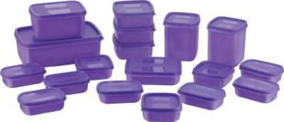 Mastercook Combo Packs - 7170 ml Polypropylene Grocery Container (Pack of 18)