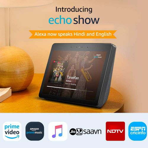 Echo Show - Premium sound and a vibrant 10.1