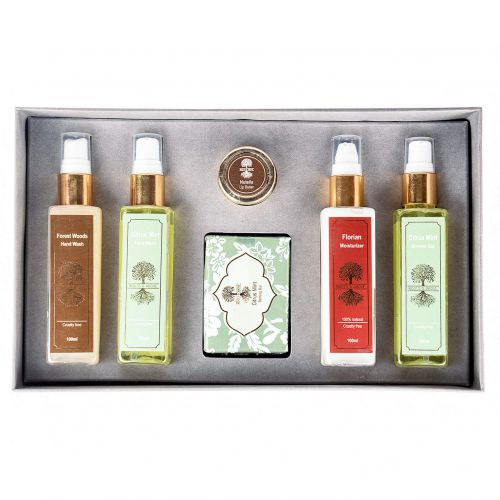Roots & Above Mix Aromatherapy Pure Natural Care Kit, 550g