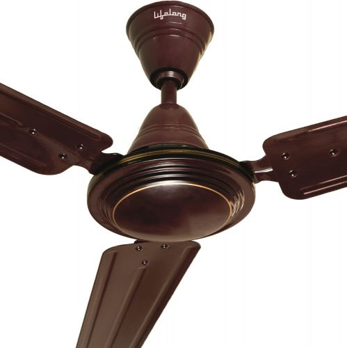 Lifelong LLCF118 1200 mm 3 Blade Ceiling Fan (Brown)