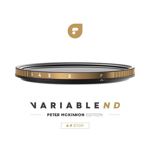 Polarpro Variable ND Filter - Peter McKinnon Edition (82mm 6-9 Stop Filter)