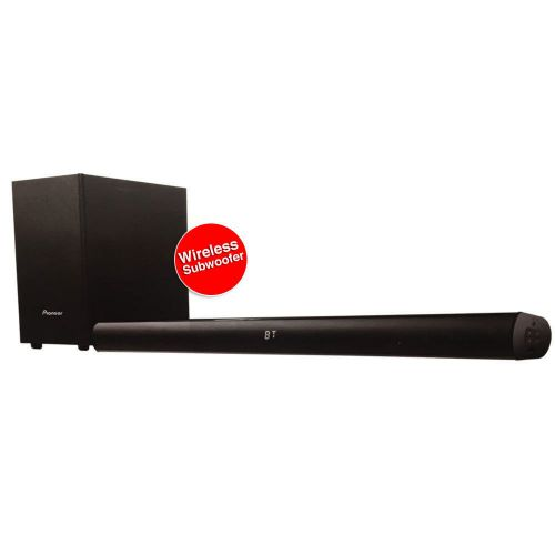 Pioneer SBX-101 Wireless Sounbar Black with sub woofer
