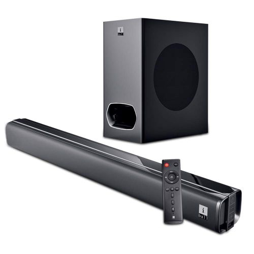 iBall Cinebar 200DD - 120 Watts Dolby Digital Bluetooth Soundbar with Subwoofer...
