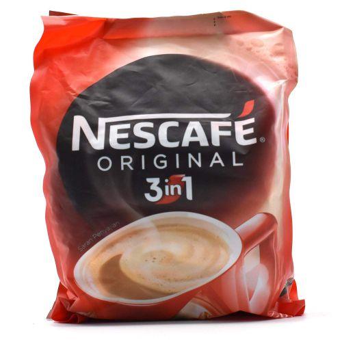 Nescafe 3 in 1 Original Soluble Coffee Beverage, 30 Sachets Bag