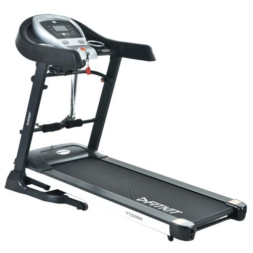 Fitkit FT200MX 2.25HP (4.5HP Peak) Motorized Treadmill With Free Diet & Fitness Plan