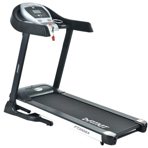 Fitkit FT200SX 2.25HP (4.5HP Peak) Motorized Treadmill With Free Diet & Fitness Plan