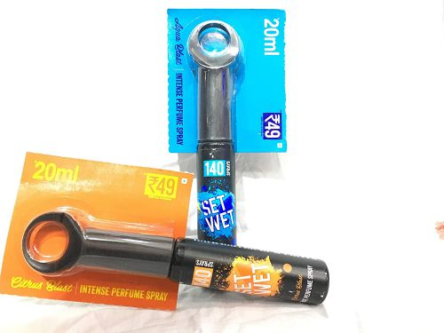 Set Wet Aqua Blast Perfume Spray, 20ml (Pack of 6)