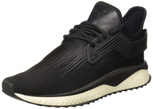 Puma Unisex Adult Tsugi Cage Black-Whisper Wh White Sneakers-6.5 UK (40 EU) (7.5 US) (36689401)