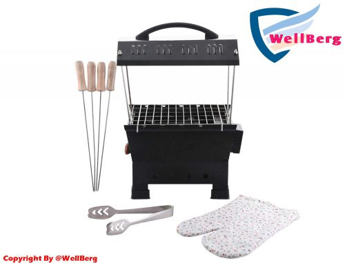 Wellberg Electic and Non Electric Charcoal Barbeque