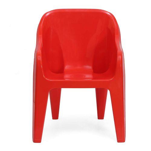 Nilkamal Eeezy Baby Chair Gem (Standard, Red) Set of 2