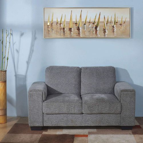 @home by Nilkamal Leah 2 Seater Sofa (Grey)