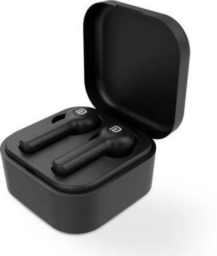 Portronics Harmonics Twins 22 Smart TWS Earpods Bluetooth Headset (Black, True Wireless)