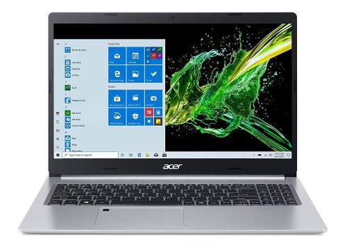 Acer Aspire 5 Slim A515-55 15.6-inch Laptop (Core i5-1035G1/8GB/1TB HDD + 256GB SSD/Window 10, Home, 64Bit/Intel UHD Graphics), Silver