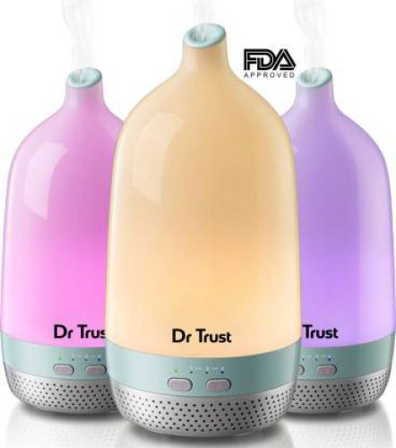 Dr. Trust Home Spa Luxury home Office Cool Mist Aroma Diffuser & Humidifier & Ultrasonic Portable Room Air Purifier (Multicolor)