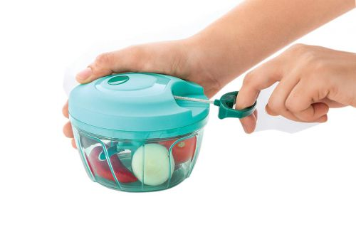 Food Chopper, Compact & Powerful Hand Held Vegetable Chopper