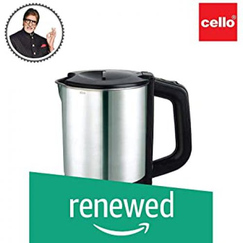 (Renewed) Cello Electric Kettle 1 Ltr 900, 1200W
