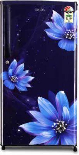 Onida 190 L Direct Cool Single Door 3 Star (2020) Refrigerator (FLORAL BLUE, RDS1903B)...