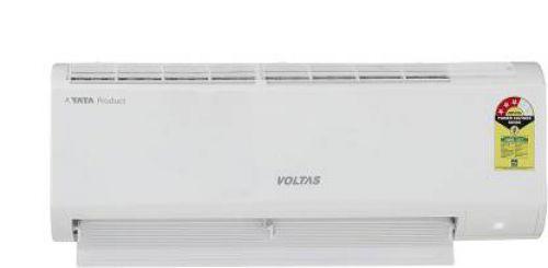 Voltas 0.8 Ton 3 Star Split AC - White (103 DZX (R32)/103 DZX, Copper Condenser)