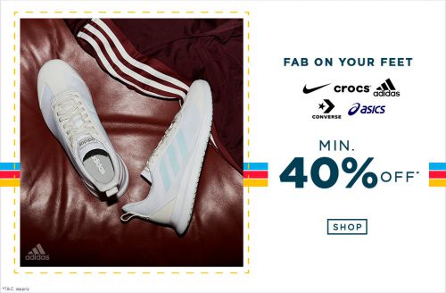 Min 40 Percent Off on Footwear | AJIO