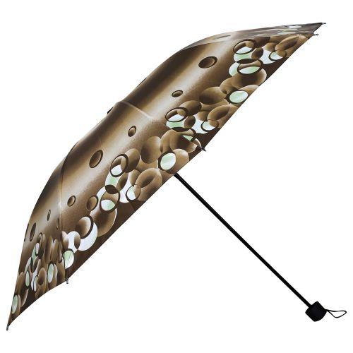Umbrella Mart 3 Fold Digital Printed Rain & Sun Protective Umbrella
