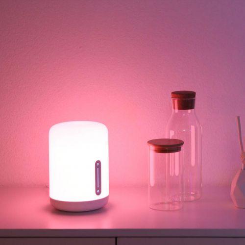 Mi Smart Bedside Lamp 2 (16 Million Colors, App-Enabled, Touch Panel)