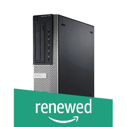 (Renewed) Dell Optiplex 7010 Business Grade Core I5 Quad Core 3.6 Ghz/ 8 GB/ 500 GB HDD/USB 3.0/2.0/LAN/VGA/DVDR/W/Win 10 Pro
