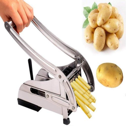 VIDISA Stainless Steel French Fries Potato Chips Cutter Manual