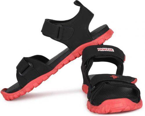 Provogue Men Red, Black Sandal