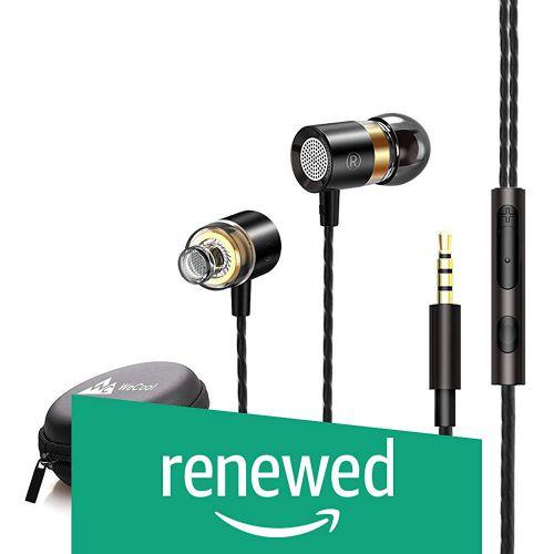 (Renewed) WeCool Mr.Bass W004 in-Ear Wired Earphones with Mic