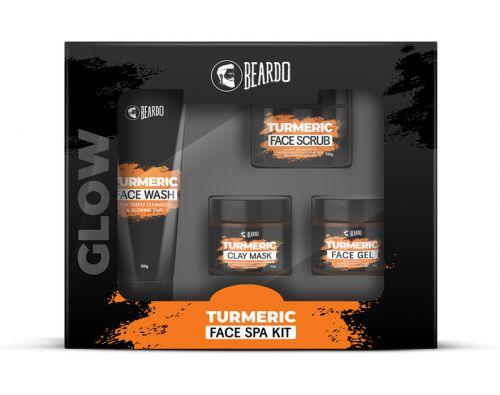 Beardo Turmeric Face Spa Kit for Men