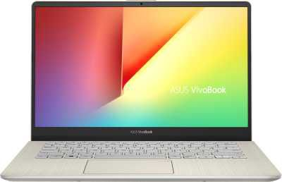 Asus VivoBook S14 Core i7 8th Gen - (8 GB/1 TB HDD/256 GB SSD/Windows 10 Home/2 GB Graphics) S430FN-EB060T Thin and Light Laptop  (14 inch, Icicle Gold, 1.4 kg)