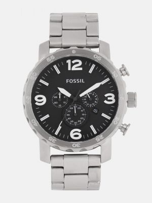 Fossil NATE Men Black Analogue Watch JR1353