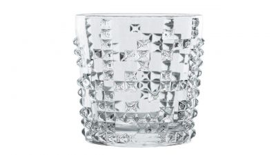 Soogo Impression Glass Rock Glass Set, 310 ml, 2-Pieces, Transparent