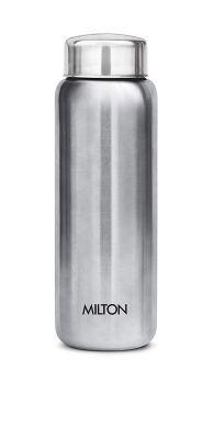 Milton Aqua 750 Stainless Steel Water Bottle, 750 ml, Silver