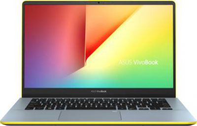 Asus VivoBook S Series Core i5 8th Gen - (8 GB/1 TB HDD/256 GB SSD/Windows 10 Home) S430FA-EB031T Thin and Light Laptop  (14 inch, Silver Blue -Yellow, 1.40 kg)