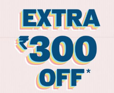Up to 50% OFF Plus Extra 300 OFF