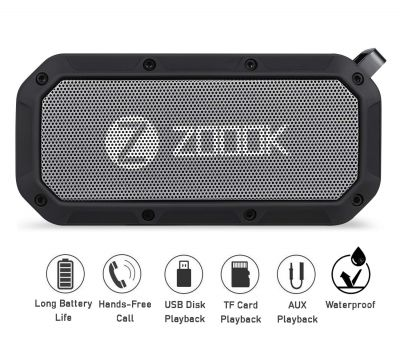 Zoook Bass Warrior Portable Wireless Bluetooth Speaker with Mic...