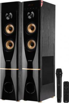 F&D T88X 300 W Bluetooth Tower Speaker (Black, 2.0 Channel)