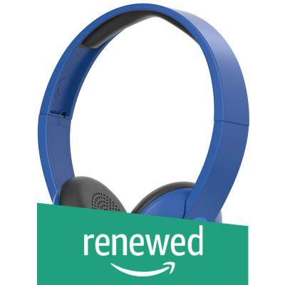 (Renewed) Skullcandy S5URJW-546 On-Ear Wireless Headphones (Royal Cream)
