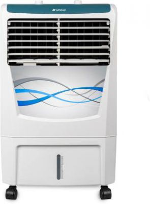Sansui Rhyme 22 Room/Personal Air Cooler  (White, Blue, 22 Litres)