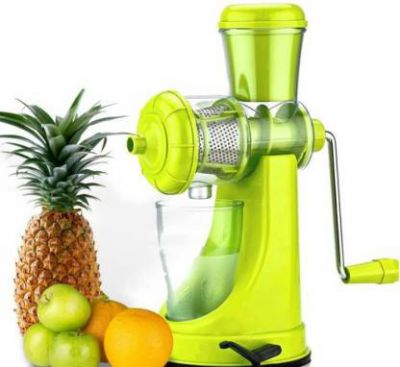 Fashion mystery Steel Hand Juicer Jay Balaji Fruit And Vegetable  (Green Pack of 1)