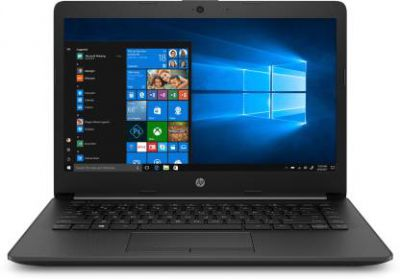 HP 14q APU Dual Core A9 - (4 GB/256 GB SSD/Windows 10 Home) 14q-cy0006AU Thin and Light Laptop  (14 inch, Jet Black, 1.47 kg)
