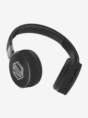 Nu Republic Dubstep-Black Bluetooth Headset  (Black, Wireless over the head)