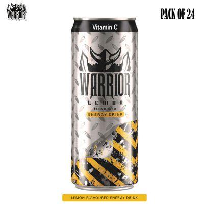Warrior Energy Drink Lemon, 24 X 330 ml