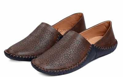 Curewe Kerien Men's Synthetic Leather Loafers Shoes Loafers For Men
