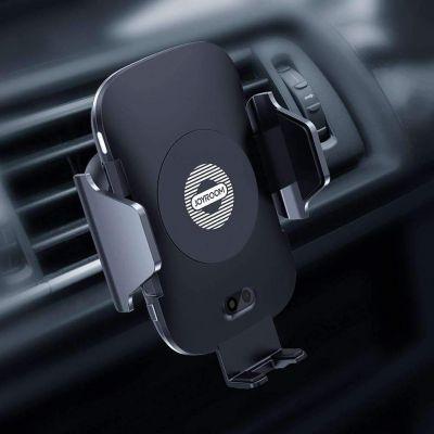 JOYROOM JR-ZS163 Qi Wireless Charger Automatic Sensor Air Vent Phone Holder