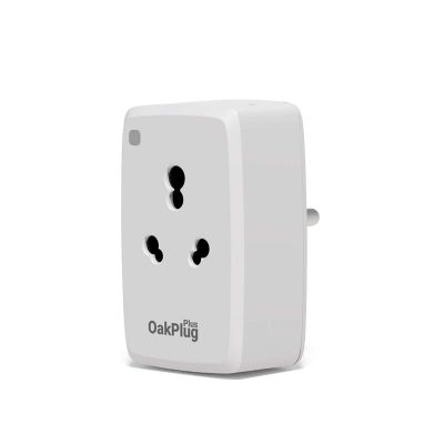 Oakter Oakplug plus Wifi Smart Plug for High Powered Appliance including AC Heater Geyser Water Motor Immersion Rod etc Compatible with Alexa & Google Assistant (White)