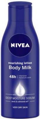 Nivea Body Milk Nourishing Lotion (120 ml)