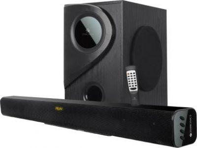 Zebronics Zeb-Juke Bar 5 45 W Bluetooth Soundbar (Black, 2.1 Channel)
